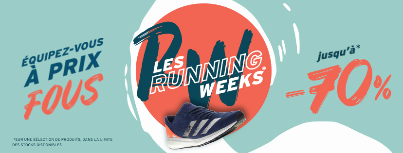 Running weeks i-run bannière