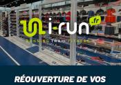 Réouverture des «Conseil-Stores» i-Run le 13 mai pour le début des «RUNNING WEEKS»!