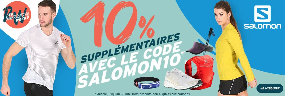 promotions SALOMON RUNNING WEEKS