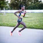 Peres Jepchirchir smashes the womens only half marathon record wearing adidas adizero adios pro 150x150