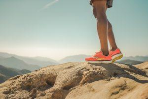 paysage et chaussure