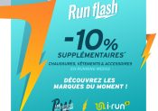 Le Run Flash, c'est en ce moment sur i-Run !
