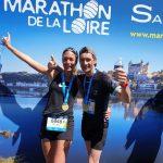 marathon de la Loire arrivée
