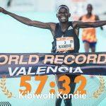 record du monde de semi marathon Valence
