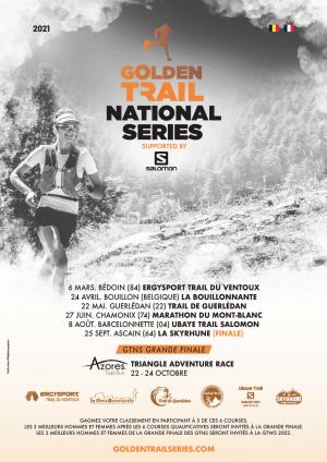 affiche golden trail series 2021