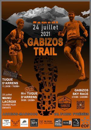 affiche trail des Gabizos