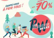 Profitez des RUNNING WEEKS chez i-Run !