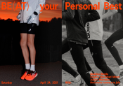 Asics challenge ses athlètes avec « Be(at) Your Personal Best » !