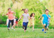 La course à pied chez les enfants