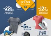 Ventes Privilèges i-Run : des prix avantageux sur de nombreux articles running