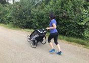 La poussette Cybex Zeno testée par une maman coureuse !