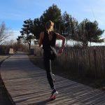 courir à jeun