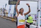 Record du monde féminin du semi-marathon sous les 1h04 pour Yalemzerf Yehualaw !